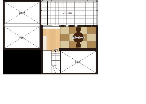 間取り図:3階