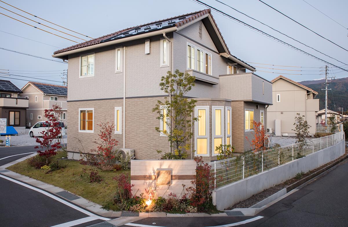 松本市沢村モデルハウス