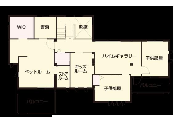 間取り図:2階